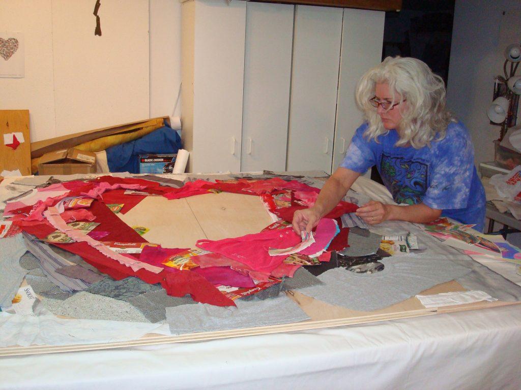 Extreme Home Makeover Experience Blog 187 Deborah Fell Art